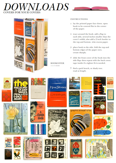 Kate spade downloads i do it yourself kate spade always has fun creative marketing ideas dont you agree how cool are these bookcovers made from vintage magazines and books solutioingenieria Images
