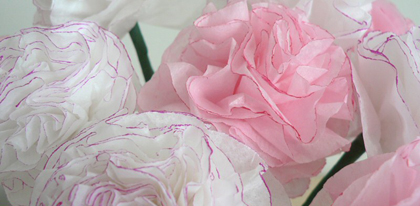 Diy tissue paper carnations i do it yourself diy tissue paper carnations mightylinksfo
