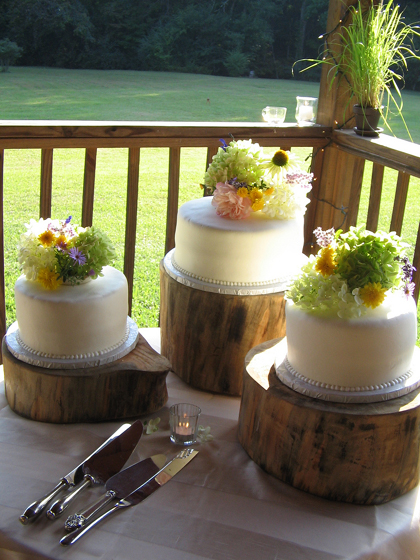 Simple Do It Yourself Wedding Cake Design