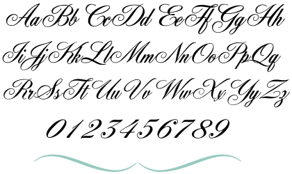 Isn t it lovely i think the york script es is a great option for
