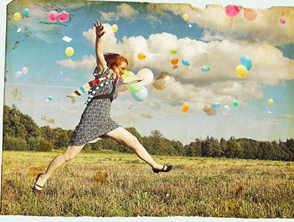 ballons and field ffffound