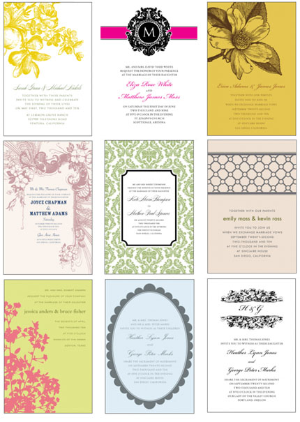 download & print: invitation templates | 'i do'-it-yourself®, Invitation templates
