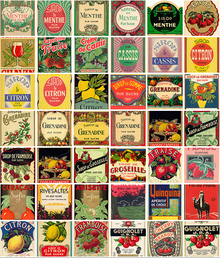 lemonade vintage labels flickr eureka