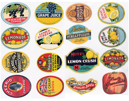lemonade vintage labels flickr haberdashery 3