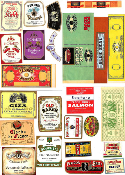 It is a graphic of Free Printable Vintage Labels inside christmas